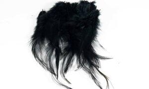 Cock Saddle Hackles – Black