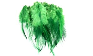 Cock Saddle Hackles – Green